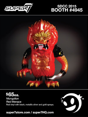 "San Diego Comic-Con 2015 Exclusive ""Red Menace"" Mongolion by L'amour Supreme"