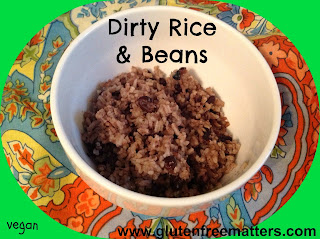 Dirty Rice and Beans ( Cuban Moros) from Gluten Free A-Z Blog