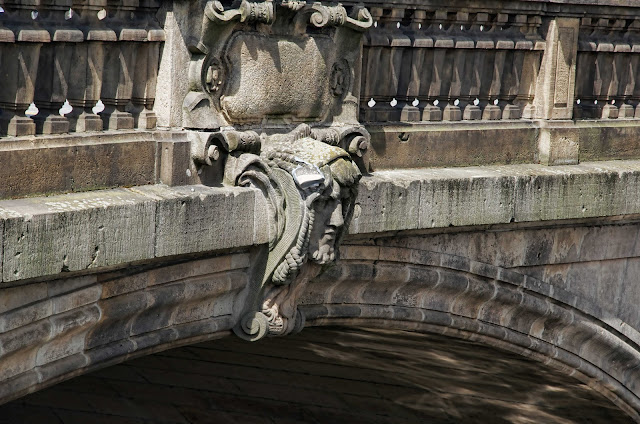 Baustelle Monbijoubrücke, Reparaturarbeiten, 10117 Berlin, 01.08.2014 1