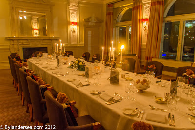 Place Settings in the Balmoral Hotel