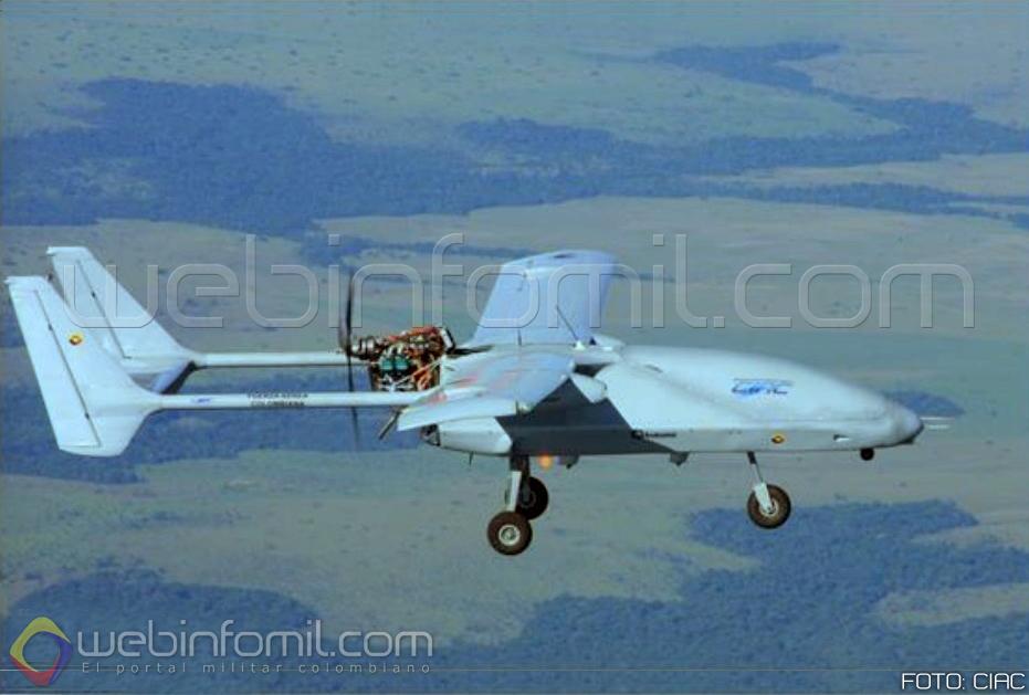 drone fuerza aerea colombiana iris