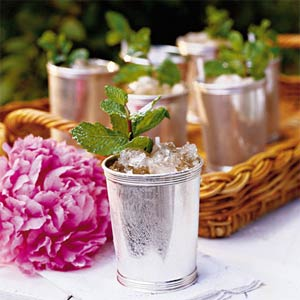 ... mint julep can be reinvented into ice cream sherbet, panna cotta, or