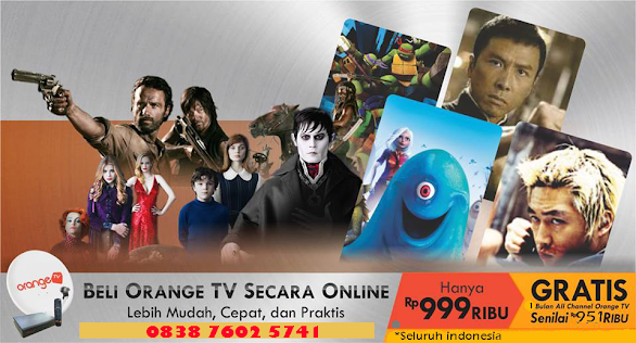 Promo Orange TV Terbaru Bulan Mei 2014