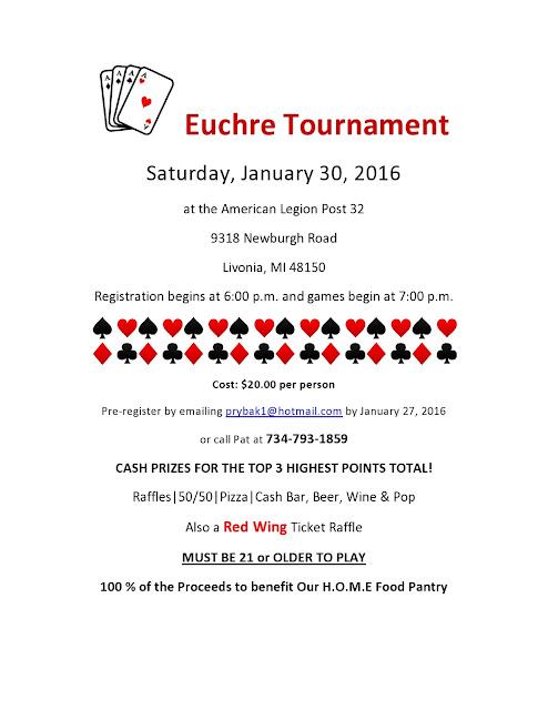 Euchre Tournament Michigan