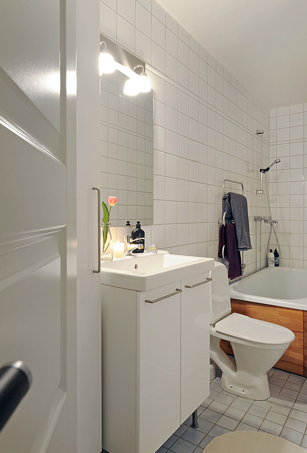 INSPIRING BATHROOM IDEAS FOR SMALL APARTMENT