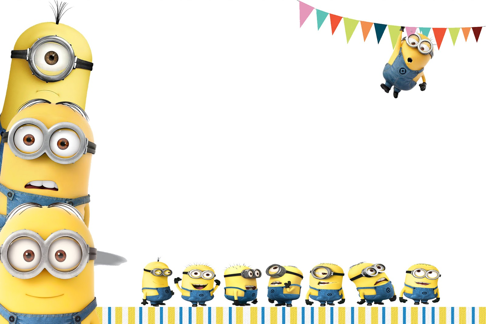 Free Printable Minion Party Invitations | myideasbedroom.com