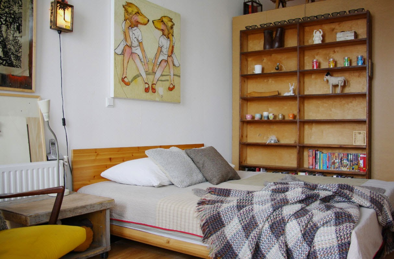 Ruang Tidur Gaya Eklektik 4