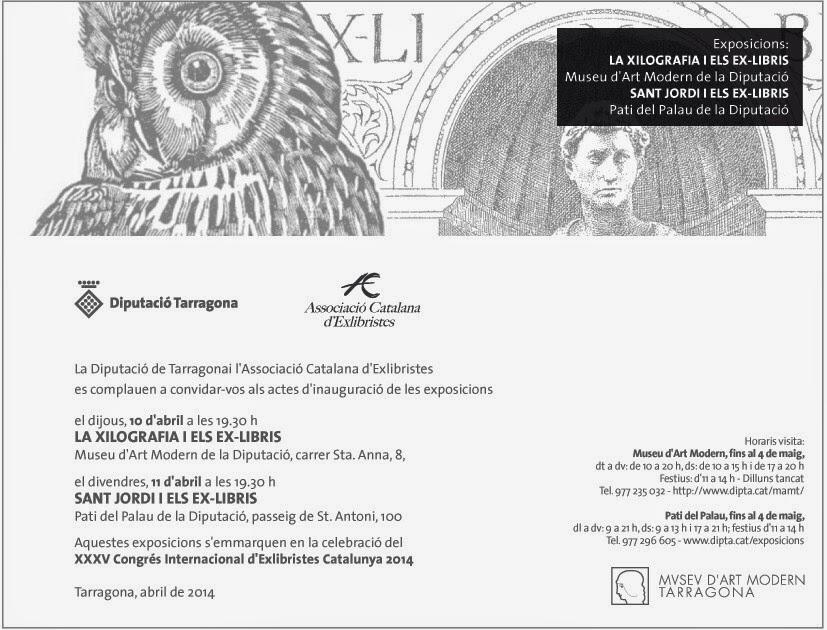 http://www.diputaciodetarragona.cat/es/actes-agenda/xxxv-congres-internacional-dexlibristes-catalunya-2014
