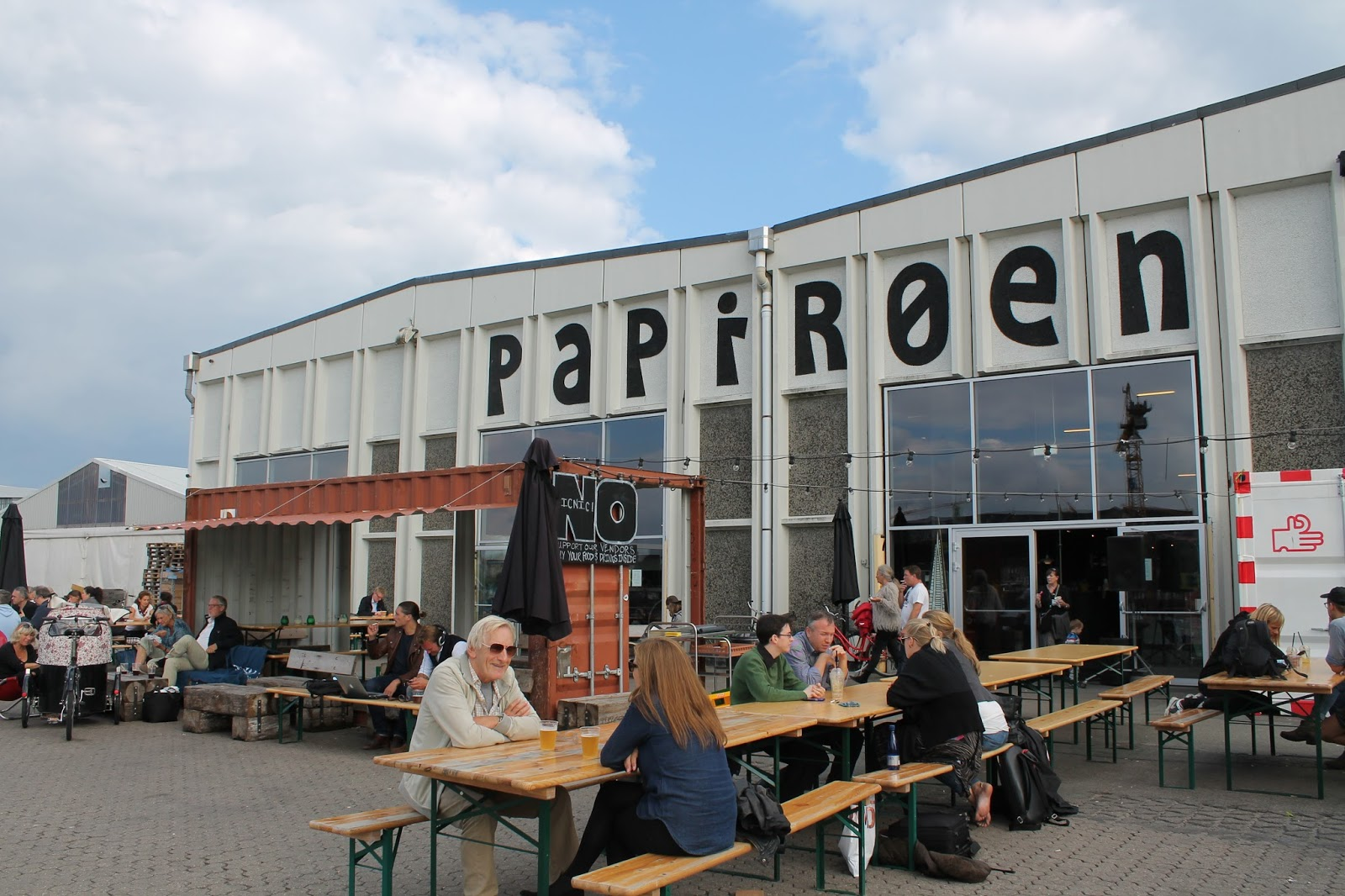 Copenhagen Street Food Paper Island - Travel Post