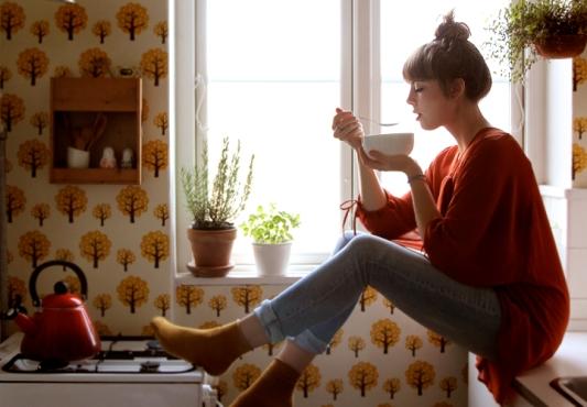 Sarah, my new roots, foodblog, keuken, fotografie, behang,