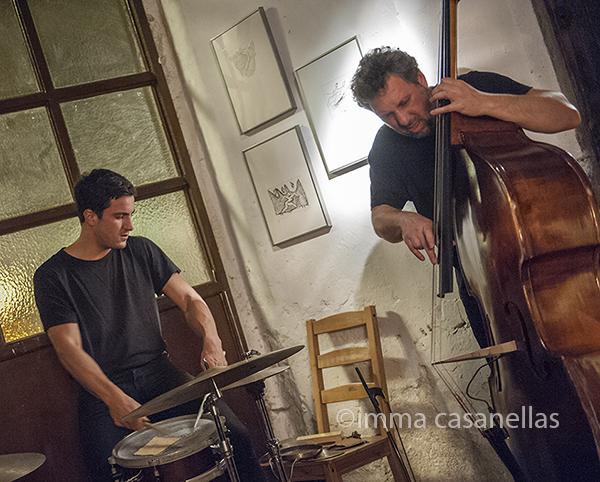 Gabriel Ferrandini i Hernani Faustino, Taller Milans, Barcelona 8-5-2015
