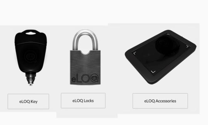 El sistema incluye una llave para cualquier cerradura y otros accesorios complementarios.