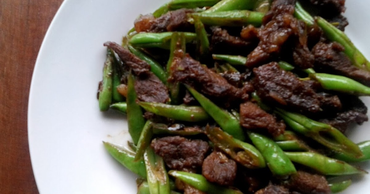 One Filipino Recipe at a Time: Beef and Bean Stir-Fry