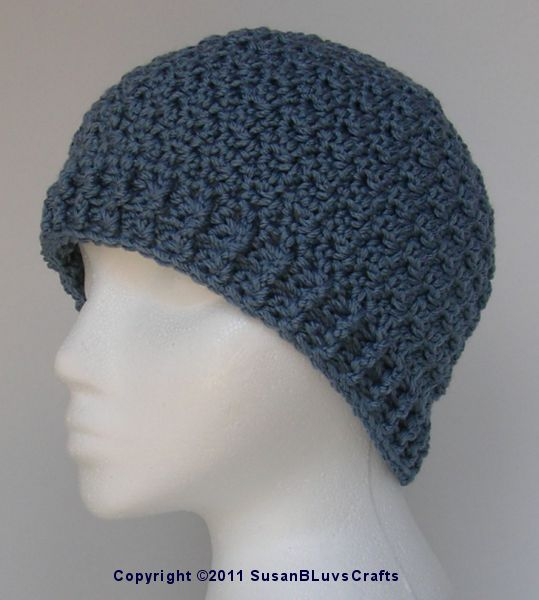 Handcrafting With Love: Griddle Stitch Beanie - Free Crochet Pattern