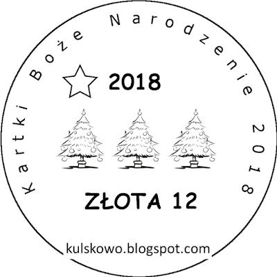 Kartki BN 2018 - Złota odznaka :)