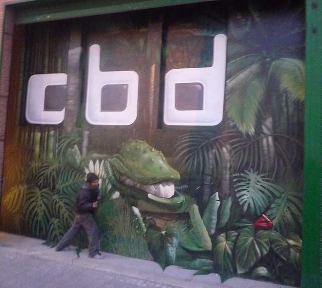 Berok graffiti mural profesional en barcelona murales de - Decoracion murales paredes ...