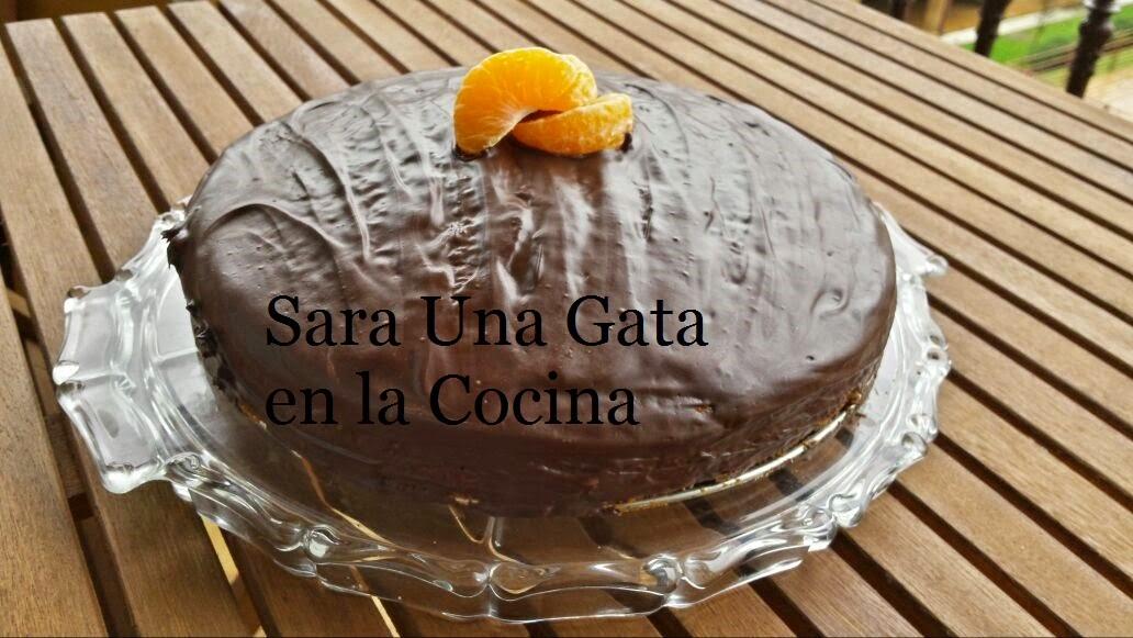 Bizcocho De Mandarina Y Chocolate