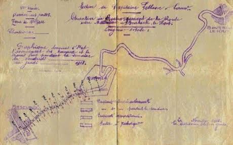 Gabriel Pagnerre dans le premier conflit mondial
