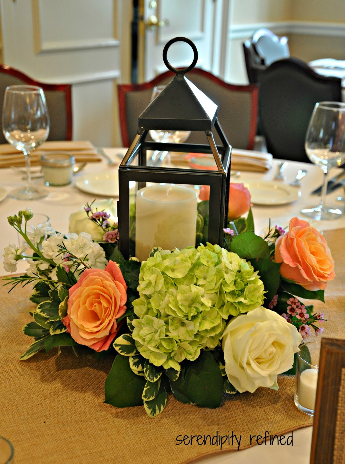 Lantern Centerpiece Images : Serendipity refined wonderful saturday wedding