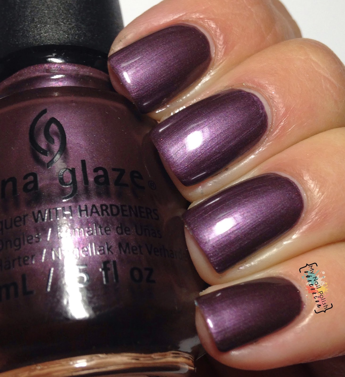 China Glaze No Peeking!