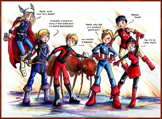 Avengers Mascot por Ani-Bester