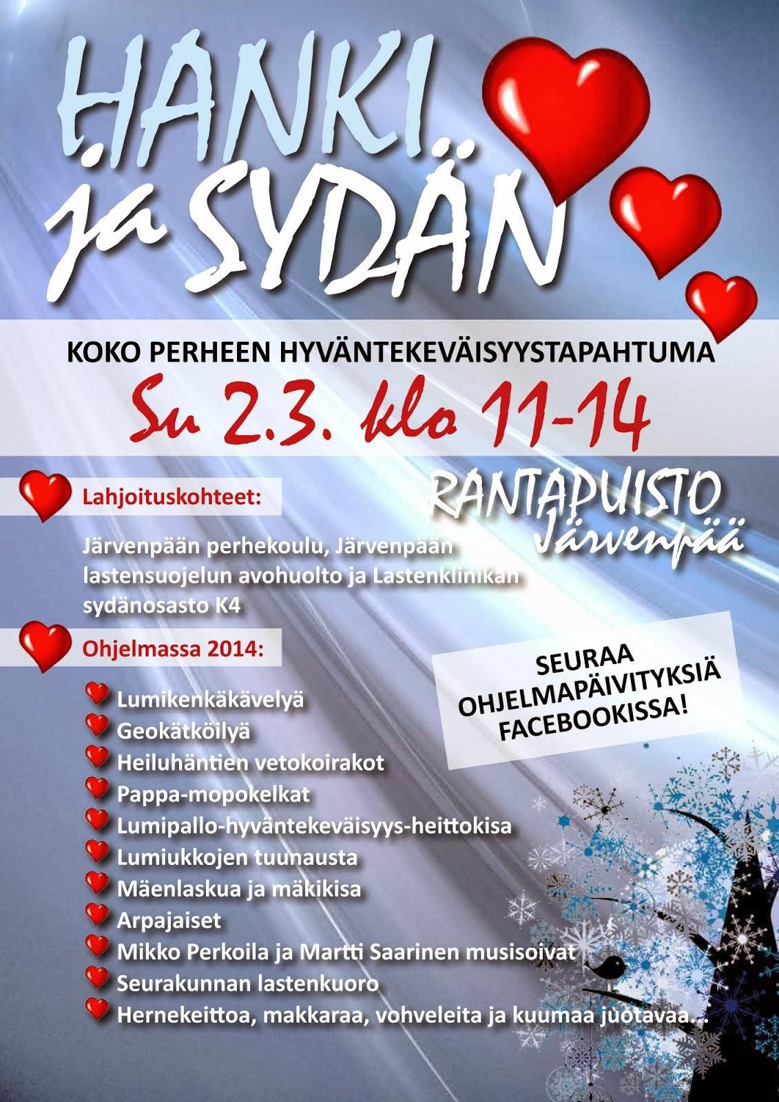 Hanki ja Sydän 2014