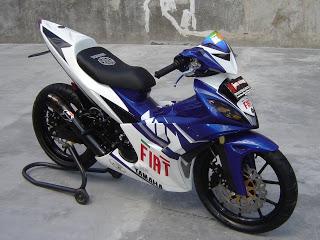 modifikasi motor Yamaha Jupiter MX keren