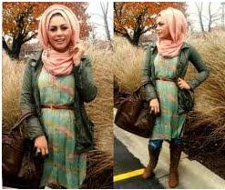 Dress yang pendek hijab