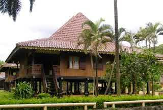 Bubungan Lima - Traditional Houses of Bengkulu