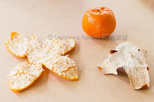 自製陳皮 Homemade Mandarin Peels03