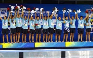 Greece - World Champion Women Shanghai 2011