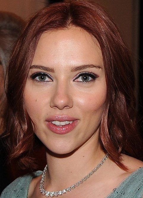 scarlett johansson red hair