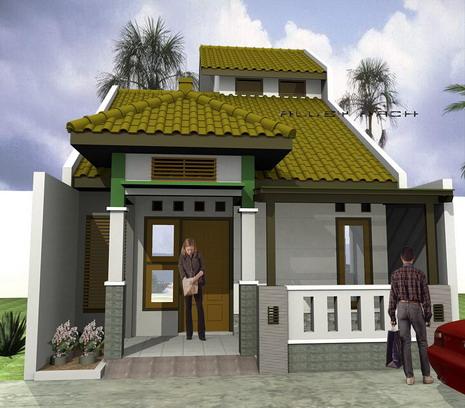 rumah mungil desain unik