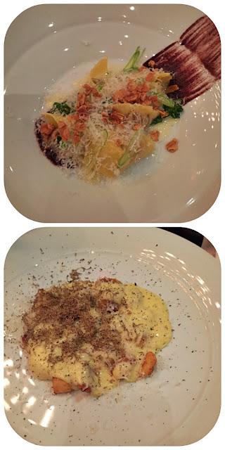 Boca Onion & Almond Cappellacci and Gnocchi con Fonduta