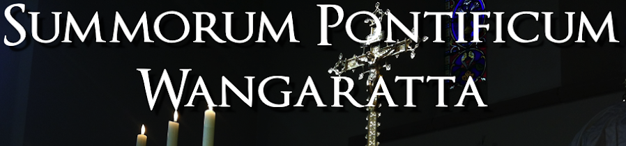 Summorum Pontificum Wangaratta
