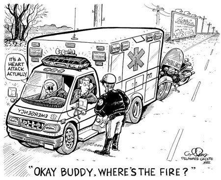 EMS Humor Ambulance Cartoons