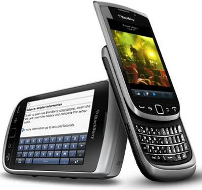 Spesifikasi dan Harga Blackberry Torch 9810