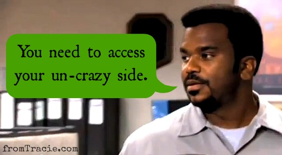 Darryl From The Office Quote Access your un-crazy side.