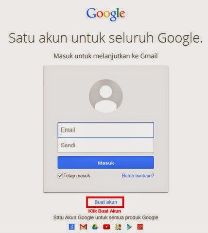 cara membuat email 1
