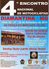 Diamantina-MG (26 à 28 de Setembro)