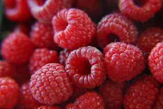 Red Raspberries, photofarmer@Flickr