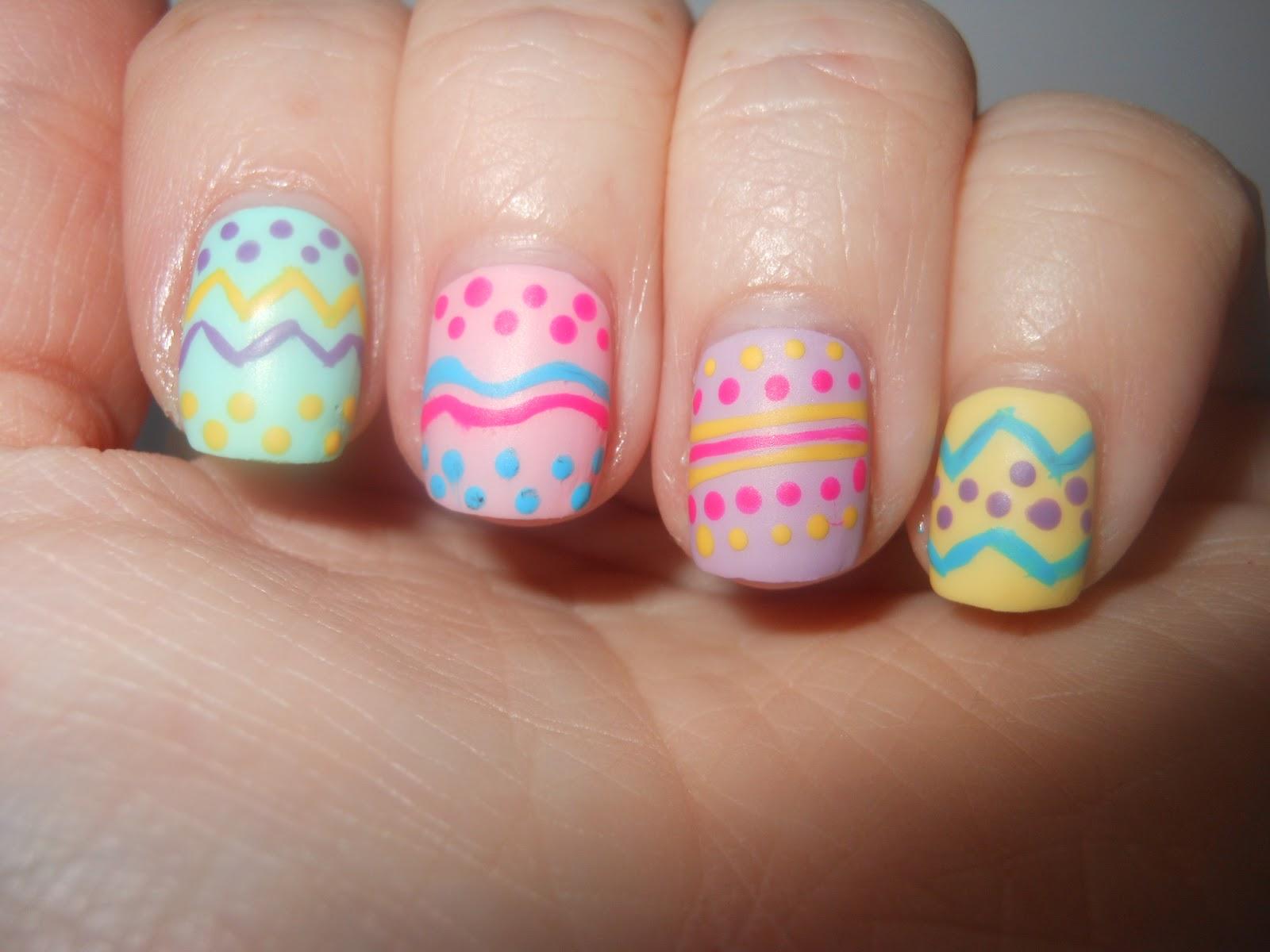 Wielkanocne Paznokcie Niech Będzie Wesoło