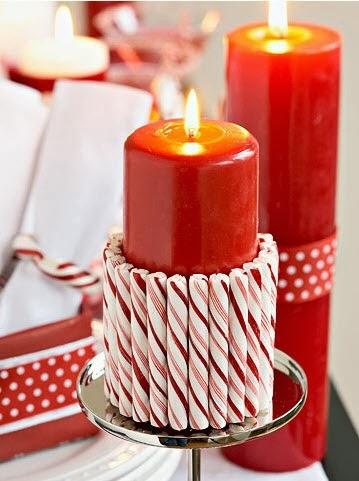 C mo decorar una vela para navidad mimundomanual - Como decorar velas ...