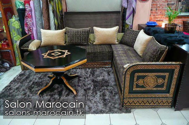 Salon marocain traditionnel 2014