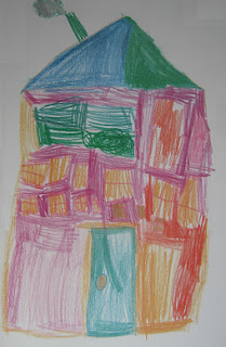 Tekenderwijs huizen tekenen for Huizen tekenen