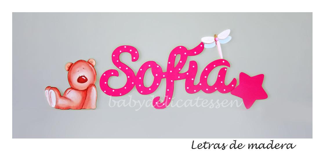 Baby delicatessen mayo 2014 - Letras de nombres para decorar ...