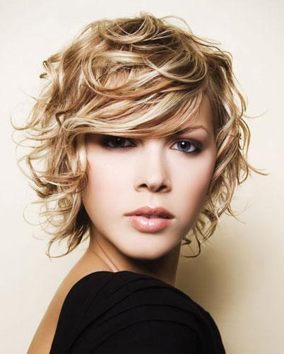 short hairs, women hairs, messy haircut, blonde short wavy