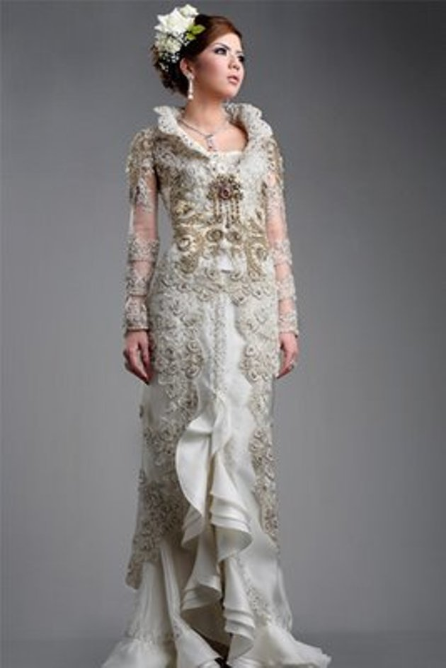 Modern terbaru wanita gambar gaun pesta baju pengantin model 2015