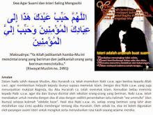 Doa suami Isteri Saling menyayangigi