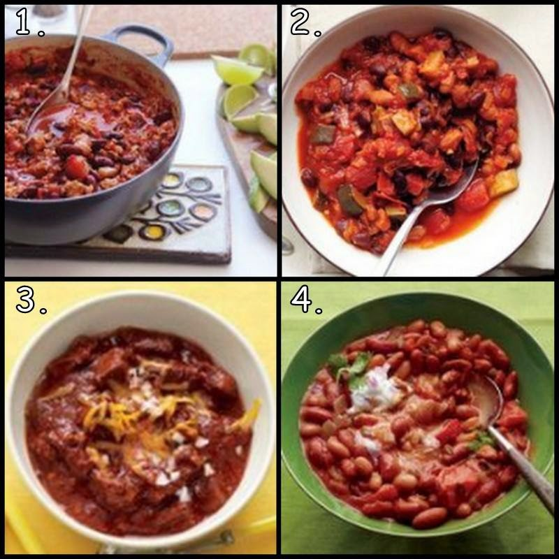 Sam's Vegetarian Bean Chili Recipe — Dishmaps